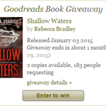 Shallow Waters – Goodreads Giveaway!