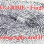 Writing Crime – Fingerprints, Photographs and DNA Samples