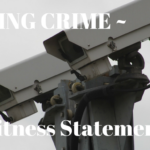 Writing Crime – Witness Statements